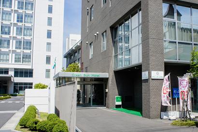 ホテル正面玄関前